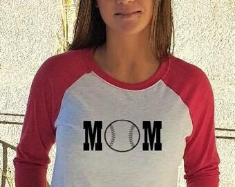 Baseball Mom Baseball Shirt