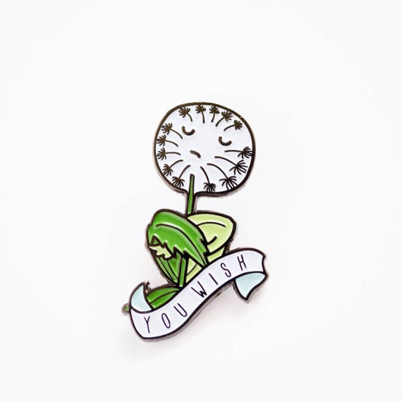 You Wish Dandelion Soft Enamel / Lapel Pin