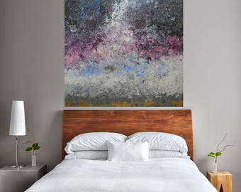 READY TO SHIP: 40x30 Large Room Art Universe Milky Way Night Sky Original Art