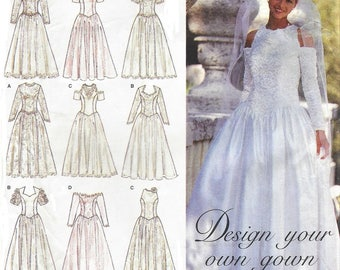 1990s Design Your Own Wedding Gown Off The Shoulder Halter Cold And More