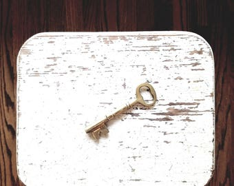 Brass Skeleton Key // Solid Brass