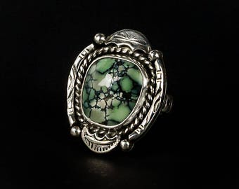 New Lander Turquoise Ring - Size 7
