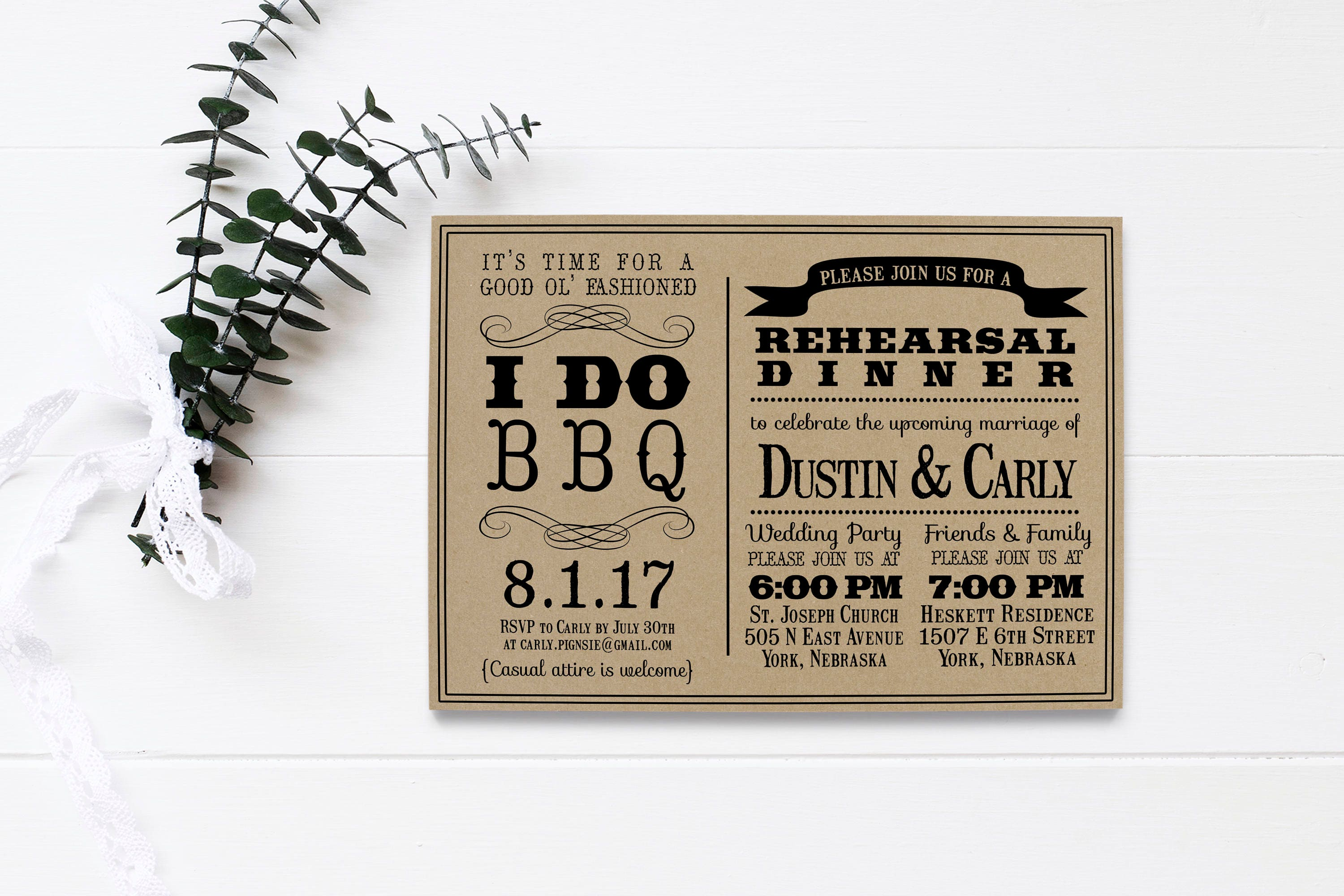 Who Do You Invite To Wedding Rehearsal Dinner: I Do BBQ Invitation Wedding Rehearsal Dinner DIY Printable