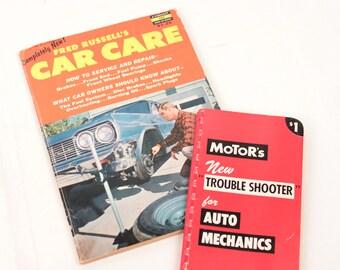 vintage car repair manuals // motor's trouble shooter