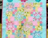 Sweet Pea's Garden Crib Quilt