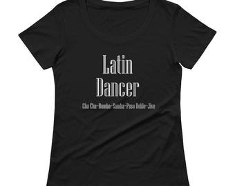 Latin Dancer Scoopneck Tee