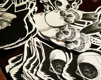 Skull Sticker Pack
