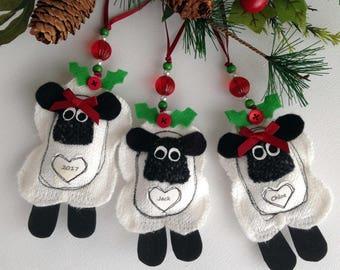 VW Van Christmas Decoration Fabric Christmas Ornaments