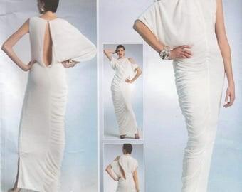 Lialia Designer Dress Pattern Vogue 1305 Sizes 6 8 10 12 14 Uncut