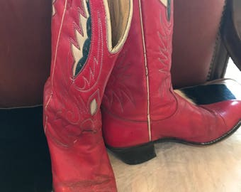 The Red Cowboy Boots You've Always Wanted