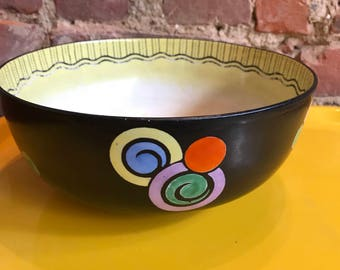 Art Deco Ceramic Bowl.