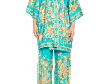 Silk Asian Pajama Set Size: 6