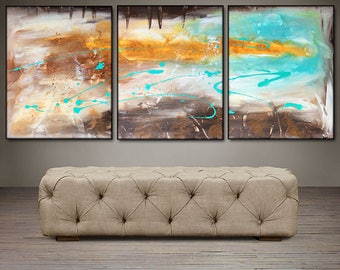 """An Autumn Song- 48"""" X 20"""" Original Paintings . Free shipping within USA"""
