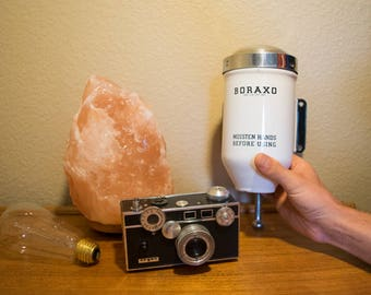 Vintage Boraxo Powdered Soap Dispenser