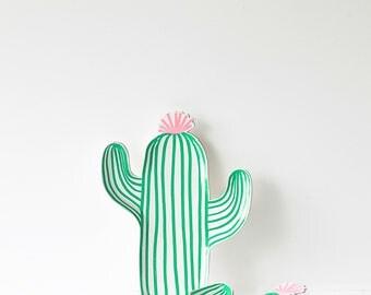 Cactus Paper Party Plates - Meri Meri- Party Decor Supplies, Summer, Desert, Themes, Birthday, Shower, Trending, Boho,