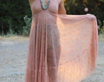 Heart of Glass Lace Dress