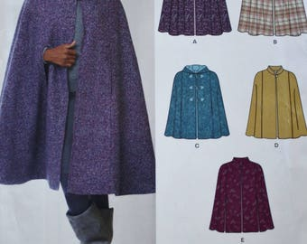Poncho Sewing Pattern/ New Look E6073 / Size XS-XL