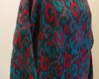 Benetton Made in Italy Mohair Sweater
