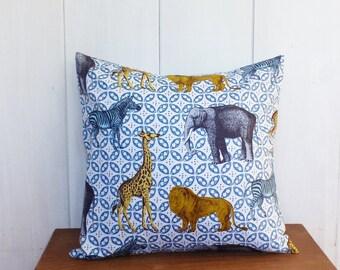 Cover of pillow 40x40  Spirals Scandinavian decoration