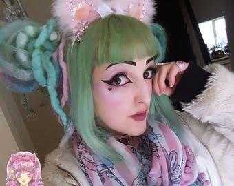 Fluffy Neko Ears - Various colours