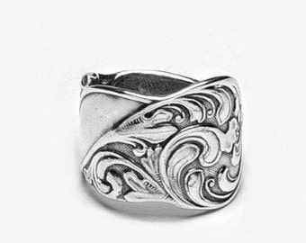 """Spoon Ring: """"Gloria"""" by Silver Spoon Jewelry"""
