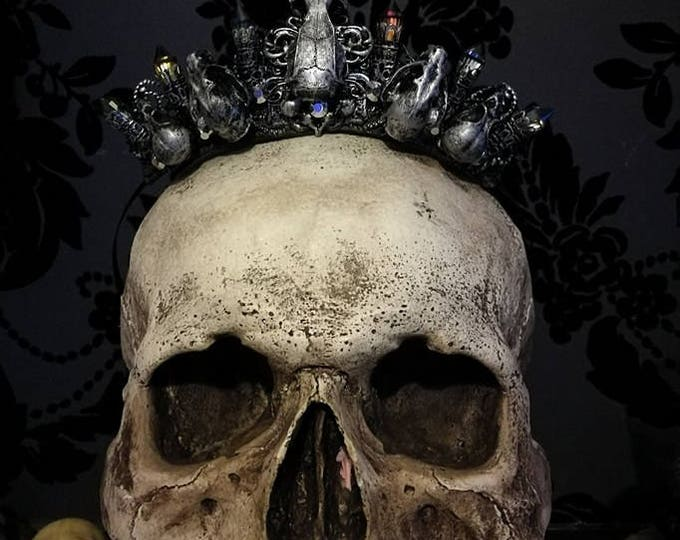 Witch Queen Mini Crown - Ready Made