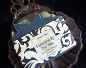 Kingdom by the Sea - Cold Process Soap - Jasmine, Spearmint, Bergamot, Lavender-Plant Based with Herbs & Essential Oils