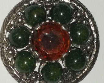 Vintage Miracle brooch pin or pendant