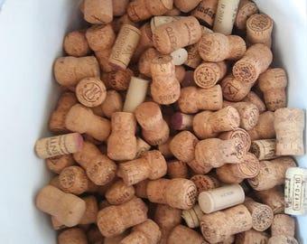 Large bag of wine corks