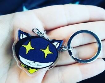 Persona 5 - Morgana - Double Sided, Acrylic, Key Chain Charm