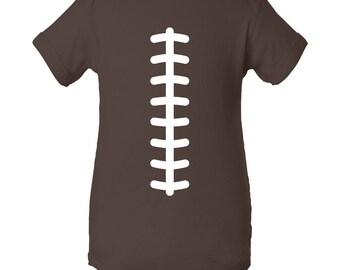 Football Team Colors Creeper - Brown