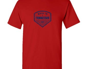 Made in Tennessee T Shirt - Red