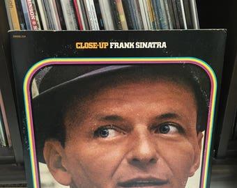 "Frank Sinatra - ""Close-Up"" vinyl record"