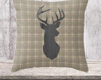 Country Home Decor, Pillow, Farmhouse Decor, Throw Pillow, Farmhouse, Decorative Pillow, Country Decor: Four Sizes, Four Colors