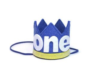 Boy Birthday Crown || First Birthday Outfit Boy || Boy Cake Smash || Boy Birthday Crown || Baby Boy First Birthday Outfit