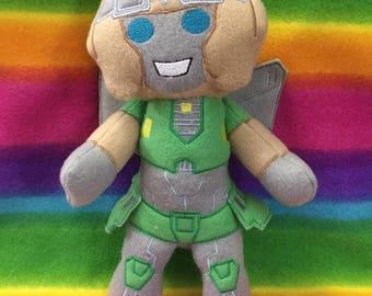 TF Lost Light MTMTE Plush Plushie BittyBot Anode Toy from Mythfits