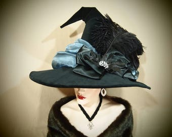 "Witch Hat ""Ice Queen"" One of a Kind"
