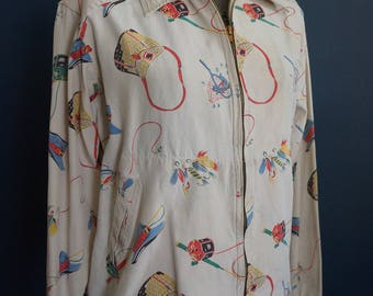 Vintage Fly Fishing Shirt