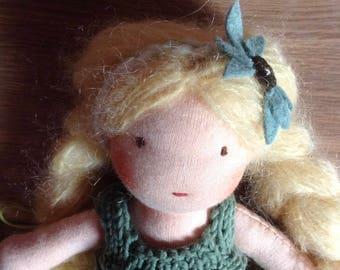 Mila * Blond hair Waldorf Doll 9 inches