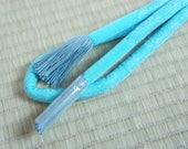 Vintage pastel blue padde...