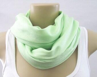 Spring Green Light Green Pashmina Large Scarf Wedding Shawl Bridal Wrap