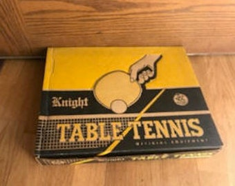 Vintage Table Tennis Complete Set by Knight