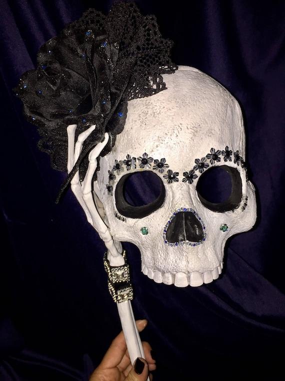 Day Of The Dead Original Masquerade Sugar Skull Undead Dia De Los Muertos Biohazard Baby Mask