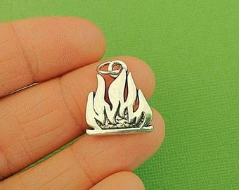 4 Camp Fire Charms
