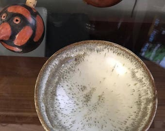 Set of Three Small Random Beautiful Bowls in Rich Earth Tones (Sold together)