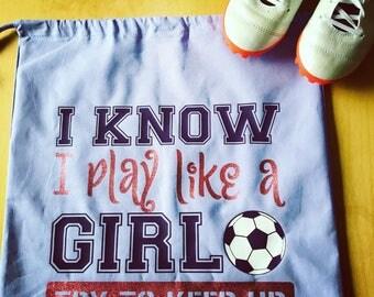 Girls Soccer/Basketball Kit bag