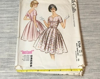 Vintage 5764 McCall's Dress Pattern