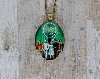 The Wizard Of Oz Vintage Gold Necklace