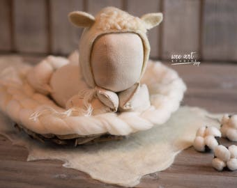 The White Lamb Bonnet