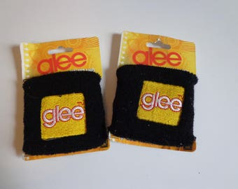Glee Logo Fabric Sweatband Wristband Gleek Destash Sale! New in Package Party Favors Collectible Gifts for Music Fans